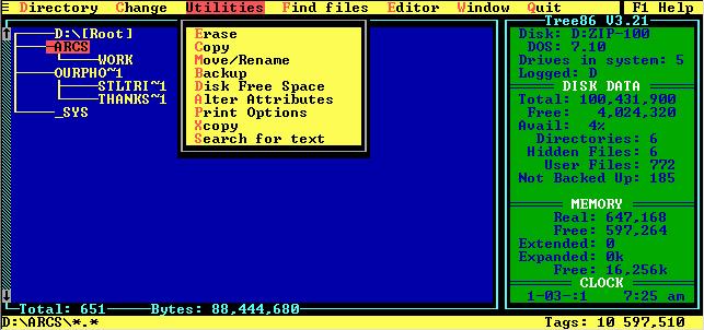 Norton commander 5. 5x stats, downloads and screenshots:: winworld.
