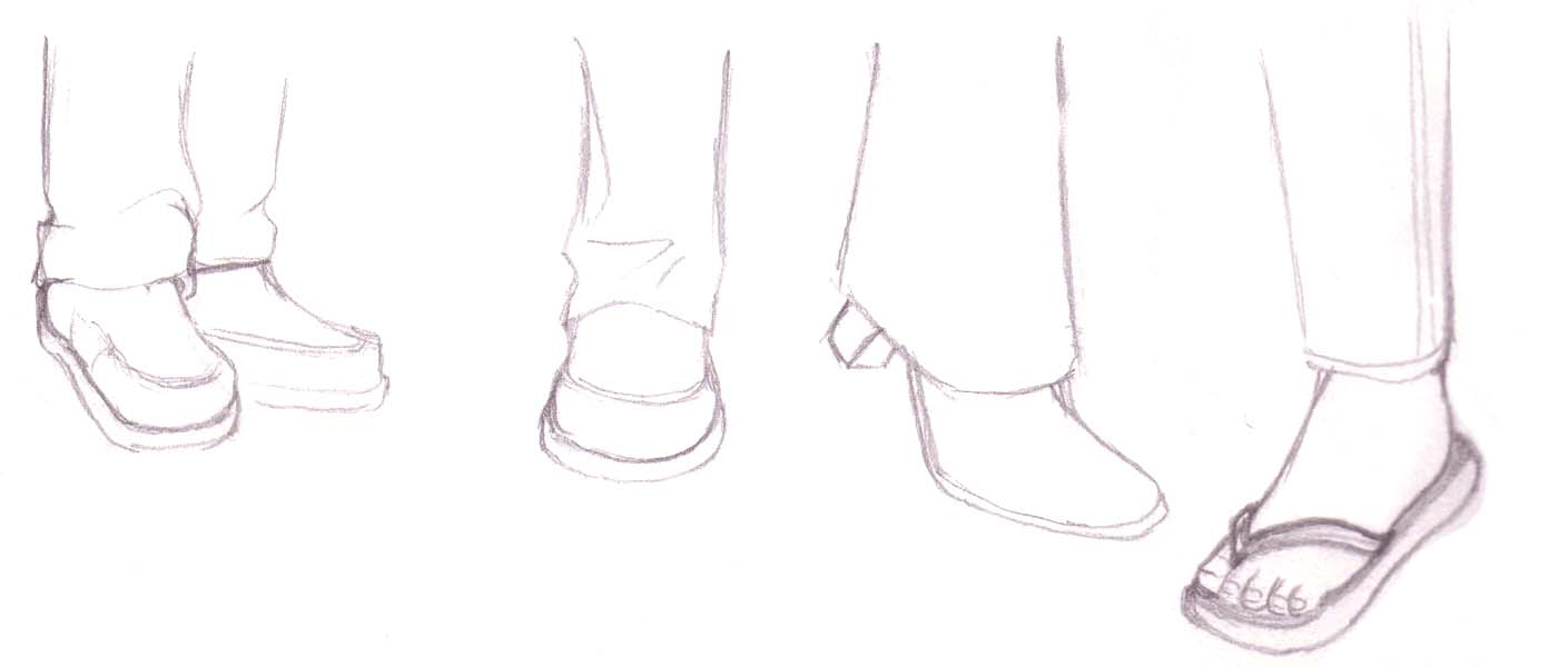 How To Draw Anime Above, There Is A Wide Leg Pant Similar To The Traditional